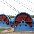 Постер, плакат: Industrial stage winch for shaft sinking in MaCheng iron mine C