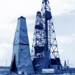 Drilling derrick in MaCheng iron mine, Luannan County, Hebei Pro — Stock Photo