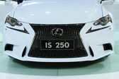 Lexus IS 250 car brand in a car sales shop, Tangshan, China — Stock Photo