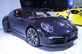 New concept Porsche 911 cars in a car sales shop, Tangshan, Chin — Stock Photo