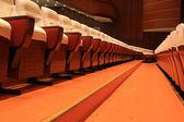 Theatre chairs — Stock Photo