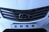 Hyundai car in a car sales shop, Tangshan, China — Stock Photo