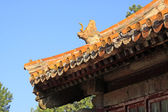 Chinese ancient architecture in Eastern Royal Tombs of the Qing — Stock Photo