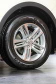 Car wheels — Stock Photo