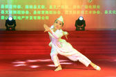 Dance performance on the stage — Stock Photo