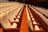 Chaises de théâtre — Photo