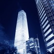 Night scenes of beijing financial center district — Stock Photo #33669625