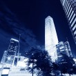 Night scenes of beijing financial center district — Stock Photo #33670193