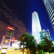 Night scenes of beijing financial center district — Stock Photo #33672235