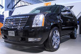 Cadillac Escalade car on display in a car sales shop, Tangshan, — Stock Photo