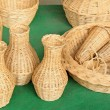 Stock Photo: Wicker manual techniques of objects