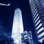Night scenes of beijing financial center district — Stock Photo #33683077