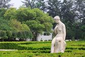 Pani nago kamienne rzeźby w parku drzwi kamienia, shijiazhuang, — Zdjęcie stockowe