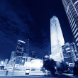Night scenes of beijing financial center district — Stock Photo #33693783
