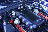 Audi automobilové vnitřní struktura v prodejně auto prodej, Čína — Stock fotografie