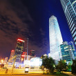 Night scenes of beijing financial center district — Stock Photo