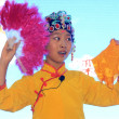 Stock Photo: Children's peking operperformance on stage