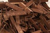 Rust metal parts  — Stock Photo