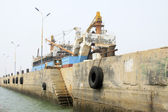 Ships waiting for repair — Stock Photo
