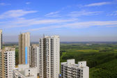 City building architecture in northern China  — Stock Photo