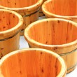 Wooden basin — Stock Photo