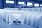 Ceramic closestool products — Stock Photo