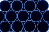 Seamless steel tube cross section — Stock Photo