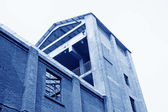 Budova v továrně — Stock fotografie