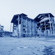 Dilapidated building in factory — 图库照片 #33412605