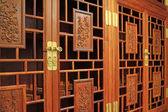 Redwood furniture, traditional Chinese art style — Stock Photo
