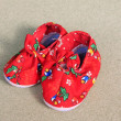 Stock Photo: Color bright children shoes