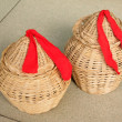 Wicker weaving crafts — Stok Fotoğraf #35024913