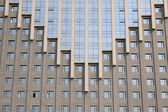 Windows on the high rise building — Photo
