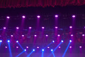 Stage lights colorful — Stock Photo
