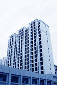 Unfinished high rise building  — Stock Photo