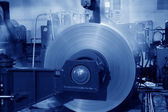 Hot rolled strip steel products — Stock Photo