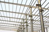 Industriell produktion workshop stål nock — Stockfoto