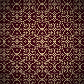 Vector damask seamless pattern background. Elegant luxury texture for wallpapers, backgrounds and page fill. — Stock Vector