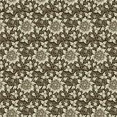 Padrão sem emenda de fundo vector flor. textura elegante para backgrounds. — Vetorial Stock