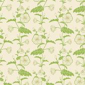 Vector flower seamless pattern background. Elegant texture for backgrounds. — Stock Vector