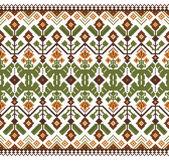 Vector illustration of ukrainian folk seamless pattern ornament. Ethnic ornament — Stock Vector