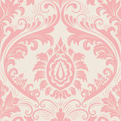 Vector damask seamless pattern element. Elegant luxury texture for wallpapers, backgrounds and page fill. — 图库矢量图片