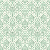 Vector damask seamless pattern background. Elegant luxury texture for wallpapers, backgrounds and page fill. — Stok Vektör