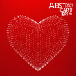 Abstract heart vector background. — Stock Vector #46656743