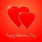 Happy Valentine's Day. — Stock Vector