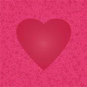 Abstract heart vector background. — Stock Vector