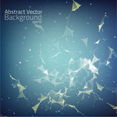 Abstract vector mesh background. — Stock Vector