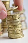 Geld besparing — Stockfoto