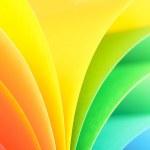 Rainbow background — Stock Photo