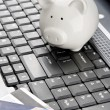 Internet banking — Stock Photo